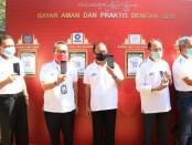 Gubernur meresmikan penerapan Tatanan Kehidupan Bali Era Baru Melalui Transaksi QRIS di Rumah Sakit Bali Mandara (RSBM), Sanur, Denpasar, Jumat (24/7/2020) - foto: Istimewa