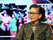 Ketua TP PKK Provinsi Bali Putri Koster menjadi salah satu narasumber dalam acara 'Perempuan Bali Bicara' bertema 'Pendampingan Belajar Anak di Rumah di masa Pandemi Covid-19', Denpasar, Jumat (24/7/2020) - foto: Istimewa