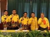 Ketua, sekjen dan para fungsionaris Partai Berkarya Jawa Tengah - foto : Koranjuri.com