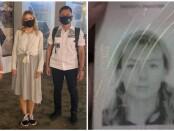 Petugas mengawal proses deportasi terhadap Iuliia Mamaeva (30) melalui bandara Ngurah Rai Bali, Selasa, 4 Agustus 2020 dini hari - foto: Istimewa