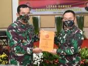 Serah terima jabatan 9 Perwira Tinggi (Pati) TNI AD, di Gedung E Mabesad, Kamis, 6 Agustus 2020 - foto: Istimewa