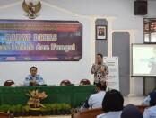 Pelatihan Sevice Excellent dari Bank Mandiri cabang Purworejo di Rutan Purworejo, Rabu (05/08/2020) - foto: Sujono/Koranjuri.com