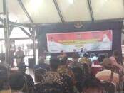 Suasana Sosialisasi Bantuan Keuangan kepada Desa dari Pemprov Jateng, Selasa (11/08/2020), di Pendopo Kabupaten Purworejo - foto: Sujono/Koranjuri.com