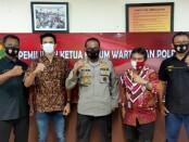 Ahmad Faruk dari media Lampu Hijau, terpilih menjadi ketua Forum Wartawan Polri (FWP) Balai Wartawan Polda Metro Jaya periode 2020-2022 - foto: Istimewa
