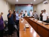 Pembentukan Forum Komunikasi Antar Media Bali Bangkit di Dinas Komunikasi, Informasi dan Statistik (Diskominfos) Provinsi Bali - foto: Istimewa