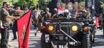 Kampanyekan Protokol Kesehatan, Puluhan Armada Tempur PD II Susuri Jalanan Denpasar-Bedugul