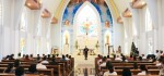 Wagub Bali Sampaikan Pesan Toleransi pada Peresmian Gereja Katholik Santa Maria Ratu Rosari