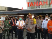 Kapolda Metro Jaya Irjen Pol Nana Sudjana bersama jajarannya mendatangi Stasiun Tanah Abang, Jakarta Pusat, Kamis, (27/8/20) - foto: Istimewa