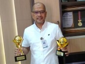 Wahyu Argono Irawanto, SE, MM, Dirut Perumda BPR Bank Purworejo - foto: Sujono/Koranjuri.com