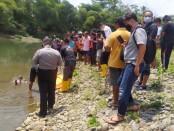 Lokasi tempat korban ditemukan tewas mengapung di Sungai Bogowonto, Senin (07/09/2020) - foto: Sujono/Koranjuri.com