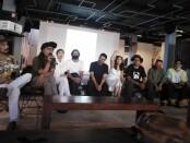 Showcase musik dari empat band yang berada di bawah naungan Pohon Tua Creamatorium yang terdiri dari Manja, Soulfood, Truedy Duality, Soul n Kith di Rumah Sanur, Jumat, 11 September 2020 - foto: Koranjuri.com