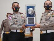 Satlantas Polres Metro Depok meraih Juara 1 Lomba Road Safety Patnership Action (RSPA) yang diikuti seluruh jajaran Satlantas di wilayah kerja Polda Metro Jaya - foto: Bob/Koranjuri.com