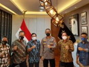Mappilu PWI bertemu Asisten Operasi (Asops) Kapolri, Irjen Pol Imam Sugianto di Mabes Polri - foto: Istimewa