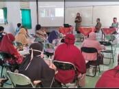 Suasana kegiatan Kumpul Bareng Guru SMK Kesehatan Purworejo, Kamis (24/09/2020) - foto: Sujono/Koranjuri.com