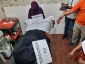 Ditreskrimum Polda Metro Jaya menggelar reka adegan praktik aborsi di kawasan Jalan Percetakan Negara, Jakarta Pusat, Jumat, 25 September 2020 - foto: Bob/Koranjuri.com
