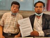 Pengusaha Wiet Soegito bersama kuasa hukum I Wayan Adimawan, SH., MH - foto: Istimewa