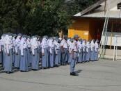 Upacara peringatan Hari Kesaktian Pancasila di SMK Kesehatan Purworejo, Kamis (01/20/2020) - foto: Sujono/Koranjuri.com