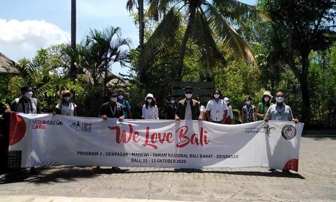Peserta Edutrips 'We Love Bali' di Mimpi Resort Menjangan - foto: Koranjuri.com