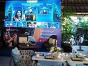 Dialog virtual 'Tourism Industry Post Covid-19: Survival dan Revival Strategy', yang diinisiasi oleh Bank Indonesia (BI), Jumat, 16 Oktober 2020 - foto: Koranjuri.com