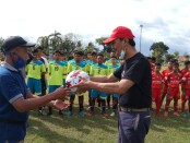 Launching pertama SSB Pandawa, sekolah sepak bola binaan ISP Football Academy, Selasa (03/11/2020) - foto: Sujono/Koranjuri.com