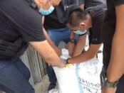 Satuan Reserse Narkoba Polres Metro Jakarta Barat menangkap kakak beradik pemilik tiga paket besar narkotika jenis sabu-sabu - foto: Istimewa