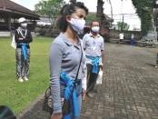 Penerapan CHSE di obyek wisata budaya dan sejarah di Puri Kerambitan, Tabanan, Bali - foto: Koranjuri.com
