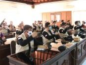 Penutupan kegiatan pelatihan 1.000 relawan covid-19 Ruang Pertemuan BPBD Provinsi Bali, Jumat (13/11/2020) - foto: Istimewa
