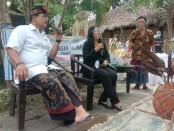 Calon Wakil Walikota Denpasar nomor urut 2 Gede Ngurah Ambara di acara Talkshow pasar UMKM di Desa Budaya Kerthalangu, Denpasar, Minggu, 15 November 2020 - foto: Istimewa
