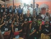 Calon Walikota Denpasar Nomor Urut 2, Gede Ngurah Ambara datang menyambangi Sekaa Santhi di Jalan Gatot Subroto Barat, Denpasar, Rabu (18/11/2020) malam - foto: Istimewa