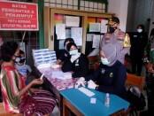 TNI dan Polri mengadakan rapid test di kawasan Petamburan, Jakarta Pusat, Minggu, 22 November 2020 - foto: Istimewa
