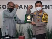 Kapolda Metro Jaya Irjen Fadil Imran menemui Ketua Pengadilan Tinggi DKI, Senin, 30 November 2020 - foto: Bob/Koranjuri.com