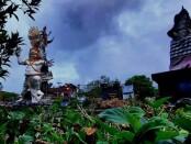 Suasana di Taman Kota Gianyar - foto: Catur/Koranjuri.com
