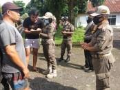 Operasi penegakan hukum protokol kesehatan dilakukan oleh Tim Gabungan Operasi Yustisi Polres Bangli - foto: Istimewa