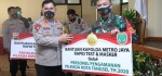 Ribuan Masker dan Alat Rapid Test Diserahkan untuk Penyelenggara Pemilu Kota Depok