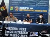 Polda Metro Jaya menggelar keterangan kasus mutilasi yang terjadi di Bekasi - foto:  Bob/Koranjuri.com