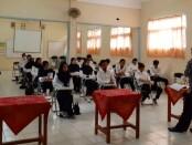Sebanyak 30 peserta, mengikuti program pelatihan Pendidikan Kecakapan Kerja (PKK) di SMK TI Kartika Cendekia Purworejo - foto: Sujono/Koranjuri.com