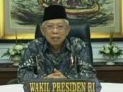 Wakil Presiden Prof. Dr. K. H. Ma'ruf Amin - foto: Istimewa