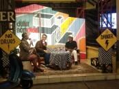 Talkshow daring sedulur namplek - foto: Koranjuri.com