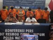 Polisi menangkap 6 pelaku penculikan dengan kekerasan - foto: Bob/Koranjuri.com