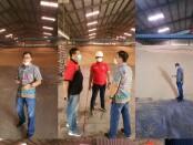Satgas Pangan Bareskrim Polri melakukan pengecekan ke gudang-gudang importir kedelai - foto: Istimewa