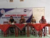 Bincang Alumni SMK Kesehatan Purworejo, Sabtu (23/01/2021) - foto: Sujono/Koranjuri.com