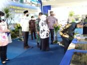 Bupati Purworejo Agus Bastian, saat meresmikan proyek-proyek pembangunan tahun anggaran 2020, Kamis (04/02/2021) - foto: Sujono/Koranjuri.com