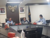 Panitia HPN 2021 bertemu dengan Plt. Sekjen Kemenkumham, Komjen Pol. Andap Budhi Revianto, S.I.K, M.H. di kantornya, di Jakarta pada Senin (1/2/2021) - foto: Istimewa