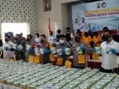Reserse Narkoba Polres Depok berhasil mengamankan 305 kilogram sabu-sabu yang merupakan jaringan Internasional asal China dan Malaysia - foto: Bob/Koranjuri.com