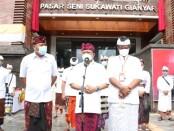 Gubernur Koster Sukses Wujudkan Pembangunan Pasar Seni Sukawati Gianyar Blok A dan Blok B Melalui Dana APBN Kementrian PUPR - foto: Istimewa