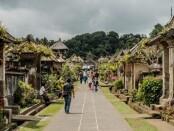 Ilustrasi Desa Wisata Panglipuran di Kabupaten Bangli - foto: Istimewa