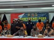 Dirkrimum Polda Metro Jaya mengungkap kasus Mafia Tanah. Korban merupakan ibu kandung mantan Wamenlu Dino Patti Djalal - foto: Istimewa