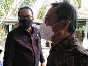 Wakil Gubernur Bali Tjokorda Oka Artha Ardhana Sukawati (kiri) bersama Kepala Perwakilan wilayah Bank Indonesia Provinsi Bali Trisno Nugroho - foto: Koranjuri.com