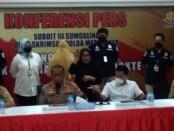 Subdit III Sumdaling Dit Reskrimsus Polda Metro Jaya mengungkap klinik kecantikan ilegal dengan tersangka pemilik klinik - foto: Istimewa