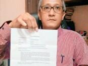 Dewa Antara, SH, pengacara penggugat (Yayasan Manggala Praja Adi Purwa) - foto: Sujono/Koranjuri.com